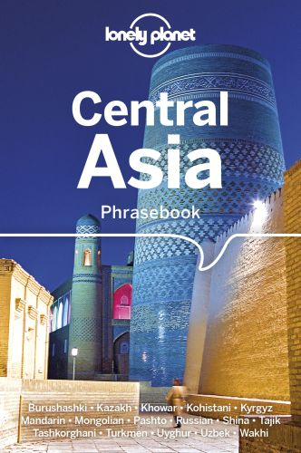 LONELY PLANET CENTRAL ASIA PHRASEBOOK & DICTIONARY -  Rudelson