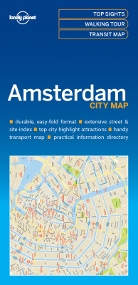 AMSTERDAM CITY MAP -  Planet