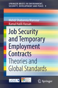 SPRINGERBRIEFS IN ENVIRONMENT, SECURITY, DEVELOPMENT AND PEACE - Mansour Shabannia