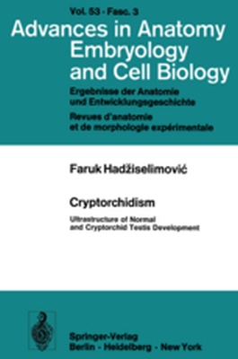 ADVANCES IN ANATOMY, EMBRYOLOGY AND CELL BIOLOGY -  Hadziselimovic