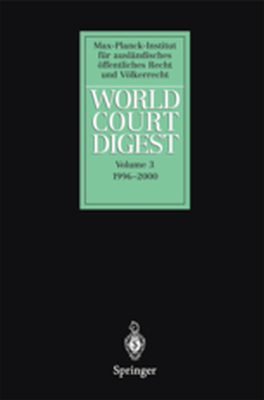 WORLD COURT DIGEST - N. Oellersfrahm K. W Krisch