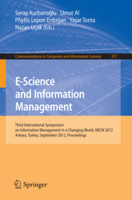 COMMUNICATIONS IN COMPUTER AND INFORMATION SCIENCE -  Kurbanoglu