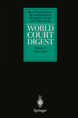 WORLD COURT DIGEST -  Hofmann