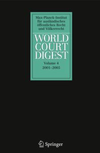 WORLD COURT DIGEST - Petra Oellersfrahm K Minnerop
