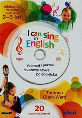 I CAN SING IN ENGLISH + CD - Terence Clark Ward
