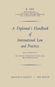 A DIPLOMATS HANDBOOK OF INTERNATIONAL LAW AND PRACTICE -  Sen