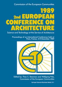 1989 2ND EUROPEAN CONFERENCE ON ARCHITECTURE -  Steemers