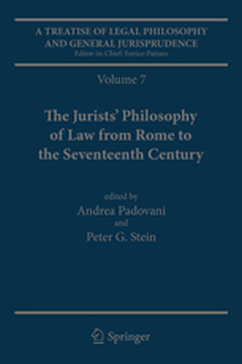 A TREATISE OF LEGAL PHILOSOPHY AND GENERAL JURISPRUDENCE - Andrea Stein Peter G Padovani