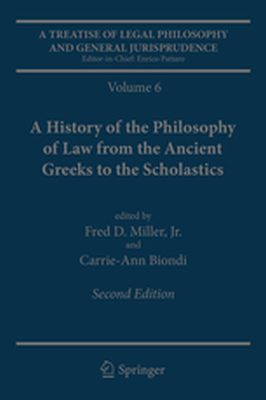 A TREATISE OF LEGAL PHILOSOPHY AND GENERAL JURISPRUDENCE - Jr. Miller