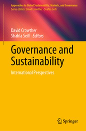APPROACHES TO GLOBAL SUSTAINABILITY, MARKETS, AND GOVERNANCE -  Crowther